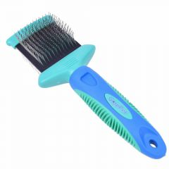 GogiPet Multibrush small - professional dog brush and cat brush