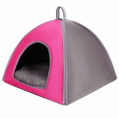 Pink pet bed recommended by GogiPet