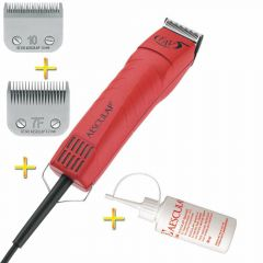 Aesculap GT105 pet clipper with 2 blades