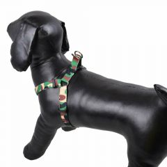Army dog harness green Camouflage