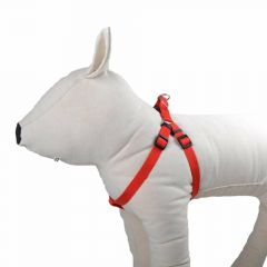 Wide, red harness for dogs by GogiPet