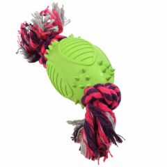 Rugged solid rubber dog toy by GogiPet