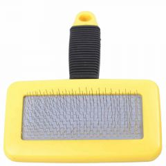 Dog brush - plucking brush for regular use