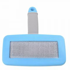 Soft slicker brush for medium size dogs