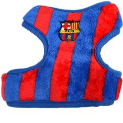 FCB dog harness - soft dog harness for dogs who love ball sports