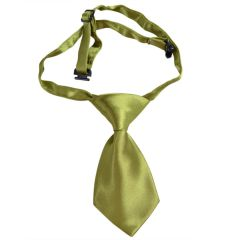 Dog tie - Self-tie for dogs Mustard green