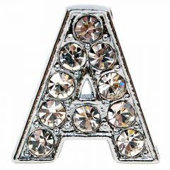 A rhinestone letter with 14 mm