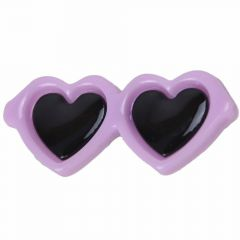 Sunglasses for dogs as hair clip of GogiPet® in naughty purple