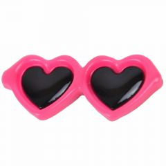 Sunglasses for dogs as hair clip of GogiPet® in sweet pink