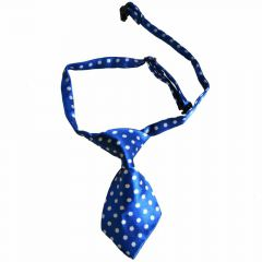 Tie for dogs blue spotted by GogiPet
