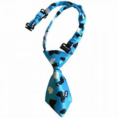 Tie for dogs blue with cats by GogiPet