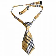 Tie for dogs golden yellow squared by GogiPet