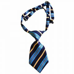 Tie for dogs blue striped by GogiPet