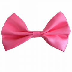 Soft pink bow tie for dogs by GogiPet®