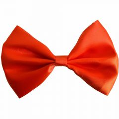 Orange bow tie for dogs by GogiPet®