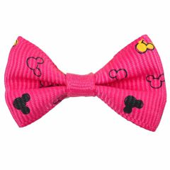 Mickey Mouse Hairbow strong pink by GogiPet