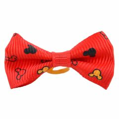 Mickey Mouse Hairbow red by GogiPet