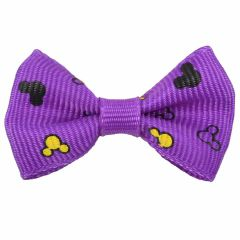 Mickey Mouse Hairbow violet by GogiPet