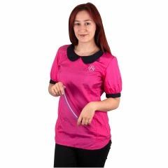 Tikima Alicia Pink workwear for dog hairdressers