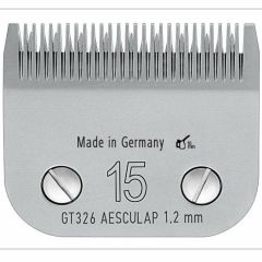 Aesculap blade GT326 Size 15 1,2 mm