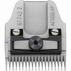 Aesculap GT742 PLUS 2 mm shaving head with knurled screw for Torqui