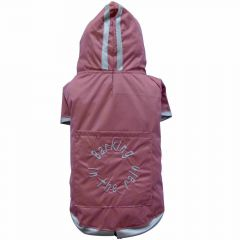 dog raincoat for large dogs by DoggyDolly Barking in the rain