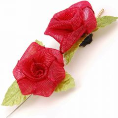 Always reusable hair jewelry for human and animal fabric roses of Blinx Pets