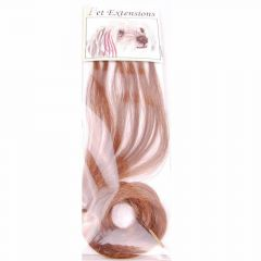 Funny extension hair extensions red brown