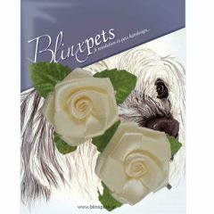 Ivory Roses - dog jewellery for the hair because it does not always have to be a bow