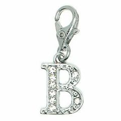 rhinestone pendant with lobster B