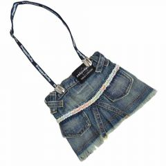 DoggyDolly denim skirt for dogs at half price at Onlinezoo.