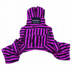Purple Dungarees from DoggyDolly Dog Fashions -70% Promotion