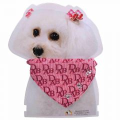 Pink collar with neckerchief