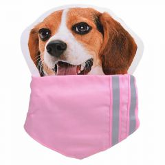 Pink collar with neckerchief L