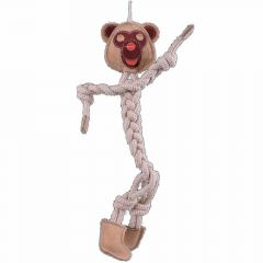 Dog Toy GogiPet ® light brown monkey with 44 cm