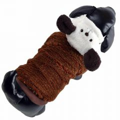 Dog clothes for the winter - brown bear