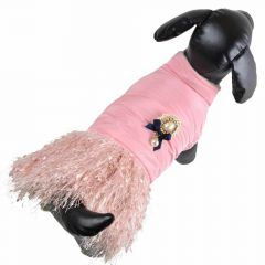 Warm dog dress Pink Royal by GogiPet