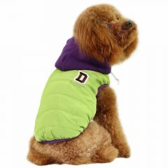 Warm dog clothing for the winter green from GogiPet ®