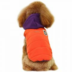 Warmer Dog parka for the winter coat of orange dog GogiPet ®