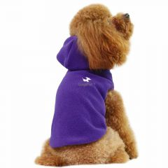 GogiPet ® double fleece dog sweater Purple