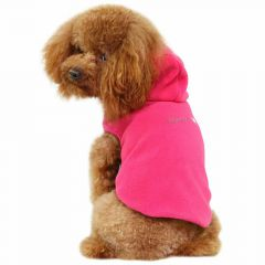 GogiPet ® double fleece dog sweater Pink