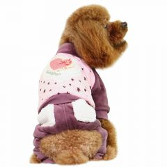 GogiPet dog clothes are clothes out of the house - pink dog coat for the winter and for the cool days