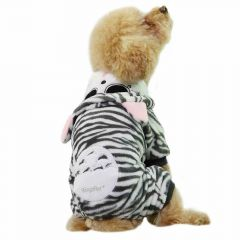 Catsuit made of flannel as funny dog clothes