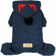 Blue Monster - Very warm dog clothes