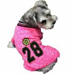 High quality dog trainingsuit pink