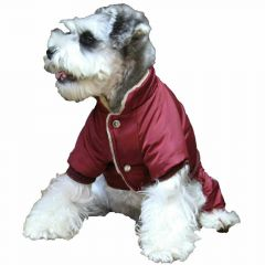 Red Air Force dog snowsuit from GogiPet