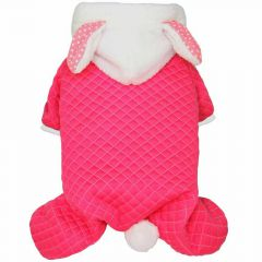 Blue bunny dog clothing