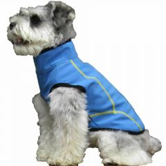 Blue dog raincoat by GogiPet