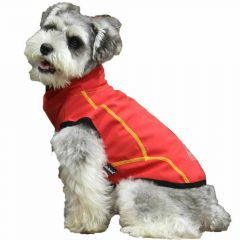 GogiPet Raincoat for dogs red