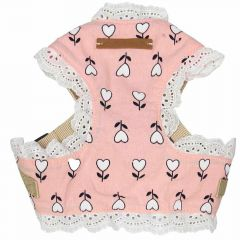 Soft harness for dogs Pink